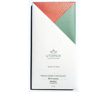 Utopick Dunkle Schokolade 85% Nugu - Nicaragua