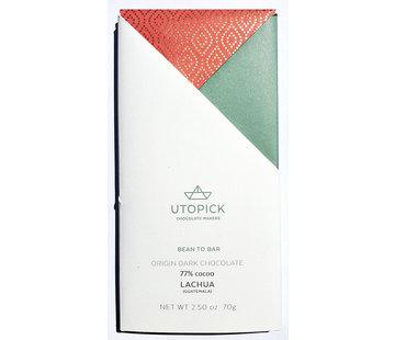 Utopick Dunkle Schokolade 77% Lachua - Guatemala