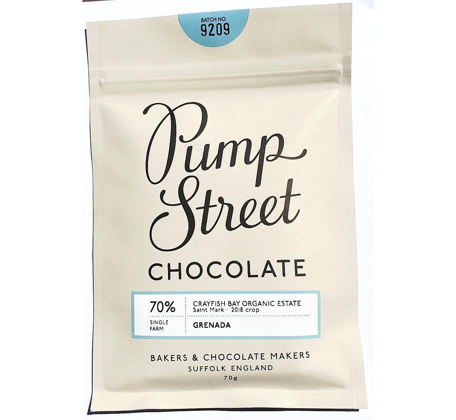Dunkle Schokolade 70% Grenada Crayfish Bay