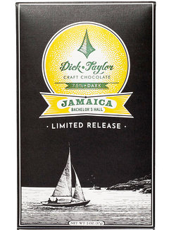 Dick Taylor Dunkle Schokolade 75% Jamaica Bachelor's Hall Limited Edition