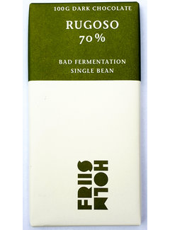 "Friis-Holm Chocolade Dunkle Schokolade 70% Rugoso ""Bad Fermentation"""