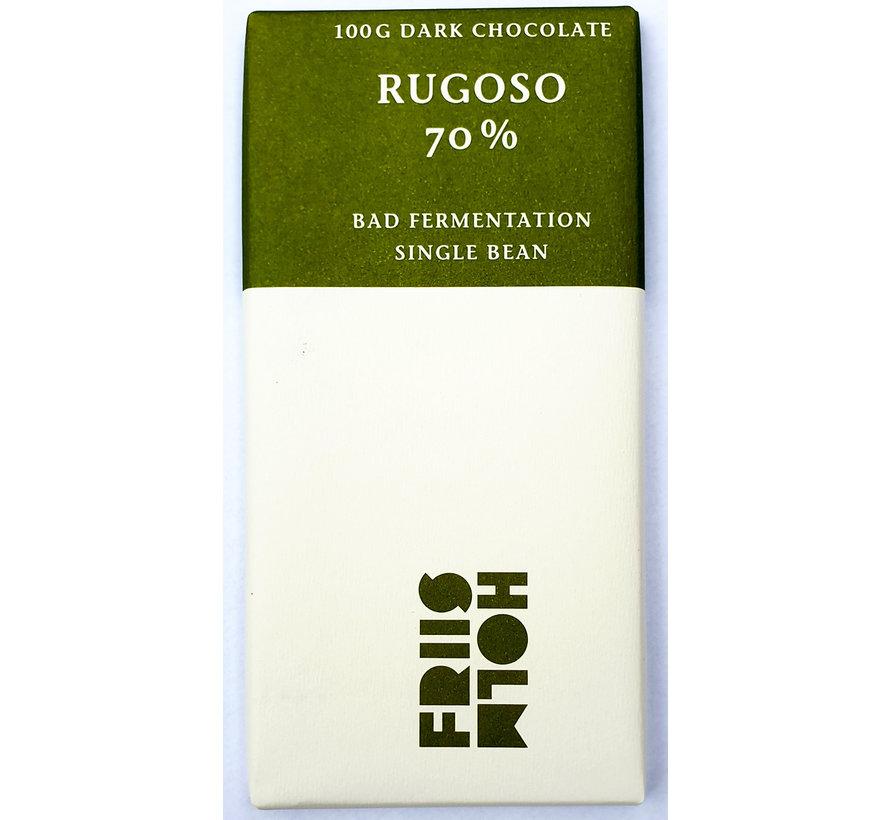 "Dunkle Schokolade Rugoso 70% ""Bad Fermentation"""