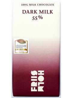 Friis-Holm Chocolade Milchschokolade 55% Dark Milk Nicaragua