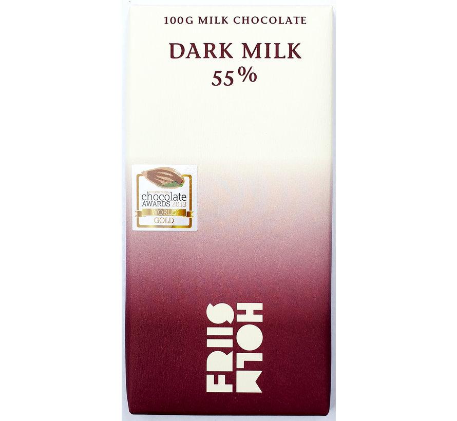 Milchschokolade 55% Dark Milk Nicaragua