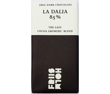 Friis-Holm Chocolade Dunkle Schokolade 85% La Dalia The Lazy Cocoa Growers Blend