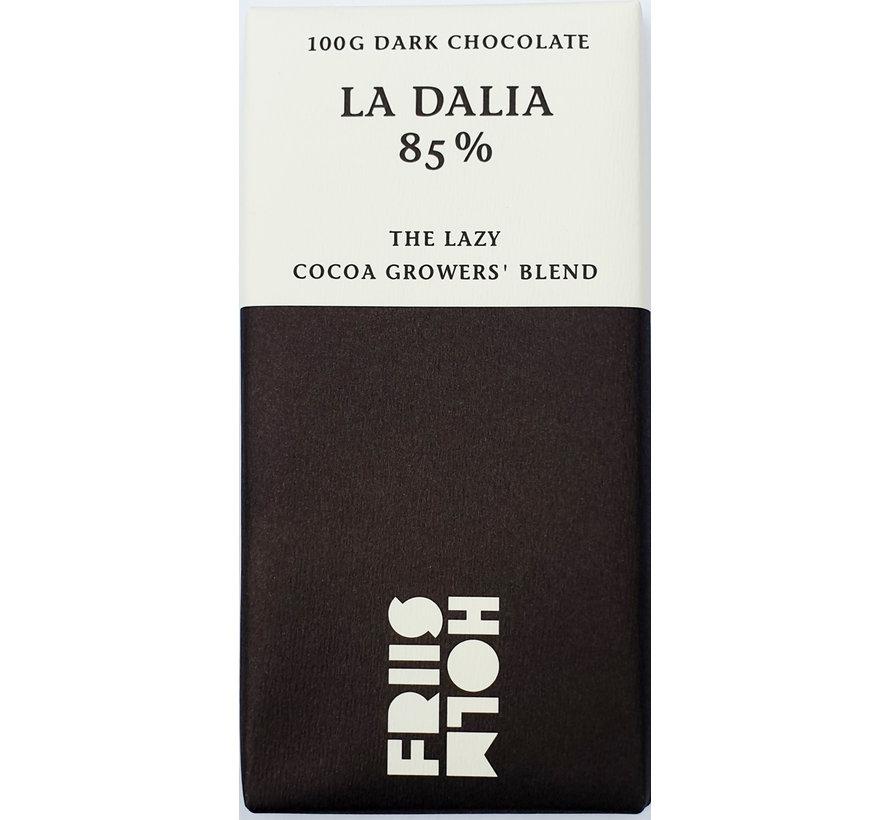 Dunkle Schokolade 85% La Dalia The Lazy Cocoa Growers Blend