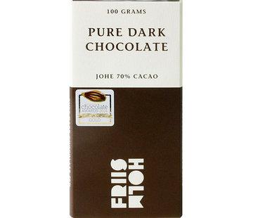 Friis-Holm Chocolade Dunkle Schokolade 70% Johe