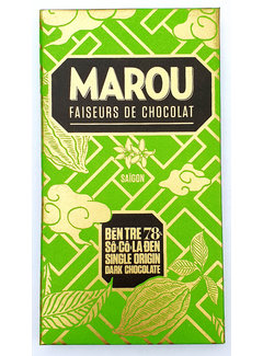 Marou Dunkle Schokolade Ben Tre 78%