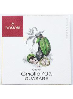 Domori Dunkle Schokolade 70% Guasare Criollo