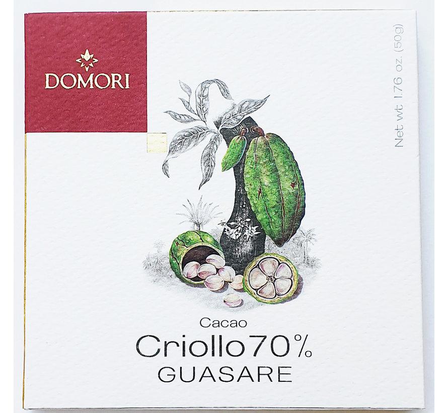 Dunkle Schokolade 70% Guasare Criollo