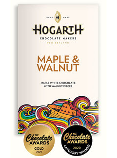 Hogarth Craft Chocolate Weiße Schokolade Maple & Walnut