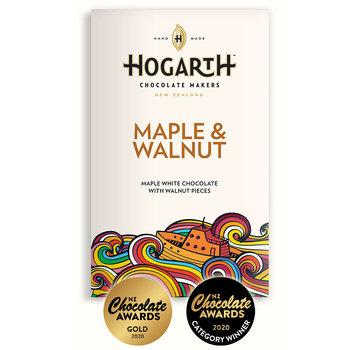 Hogarth Craft Chocolate Weiße Schokolade Maple & Walnut