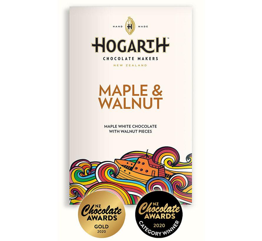 Weiße Schokolade Maple & Walnut