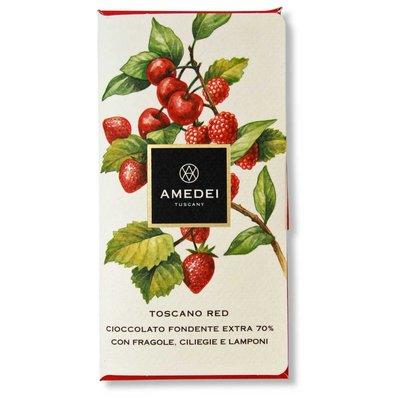 Amedei Dunkle Schokolade 70% Toscano Red