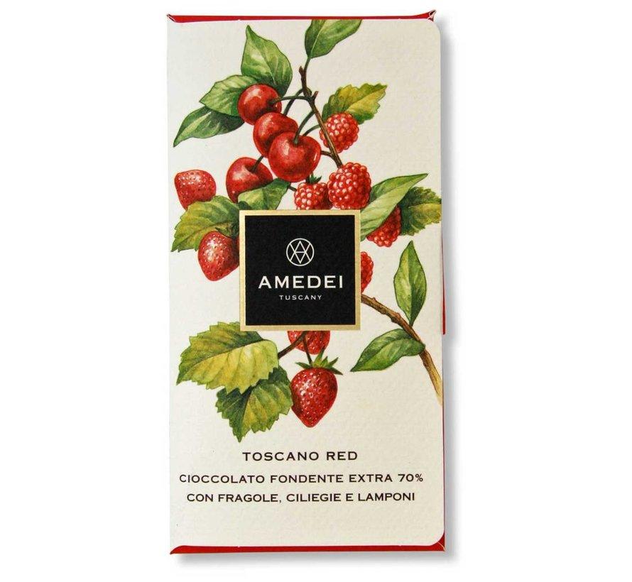 Dunkle Schokolade 70% Toscano Red