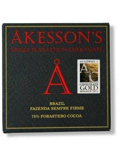 Akesson's Dunkle Schokolade 75% Brazil Fazenda Sempre Firme