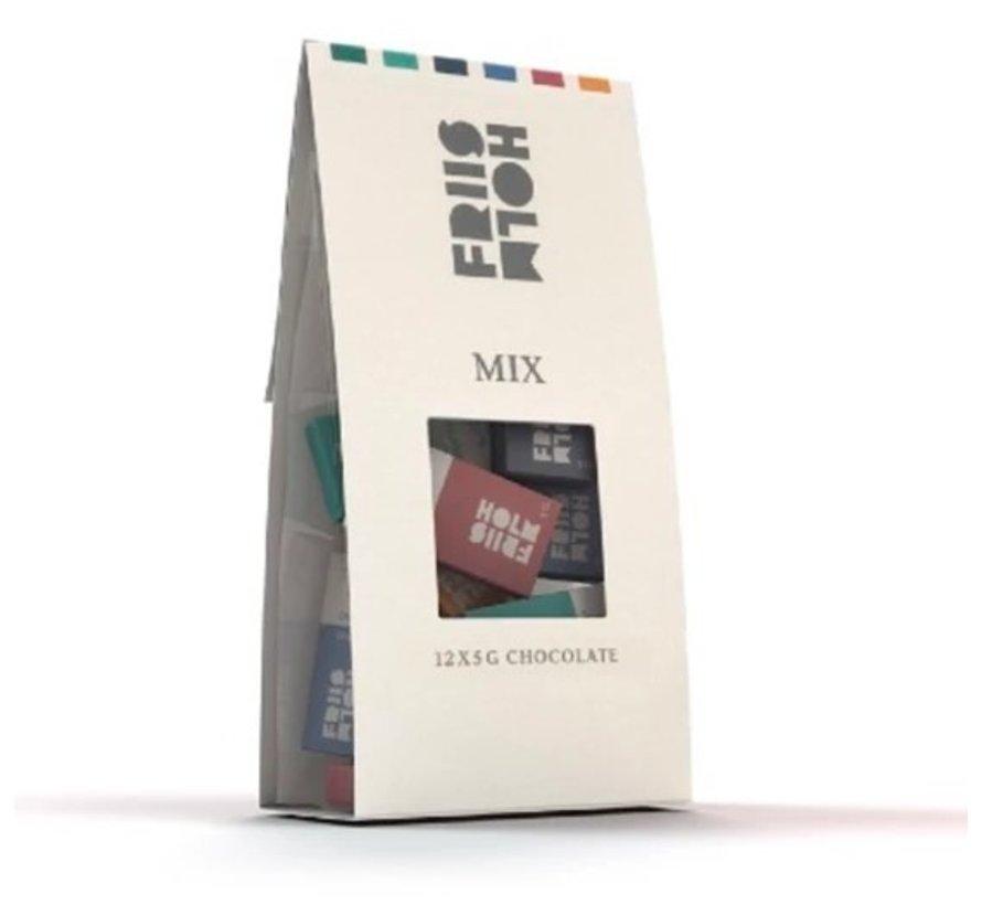 Mix dunkle und Milchschokolade