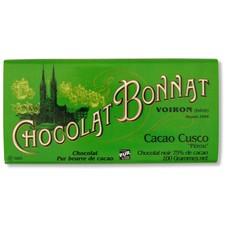 Bonnat Dunkle Schokolade Cacao Cusco 75%