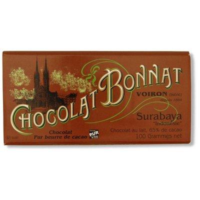 Bonnat Milchschokolade 65% Surabaya Chocolat au Lait