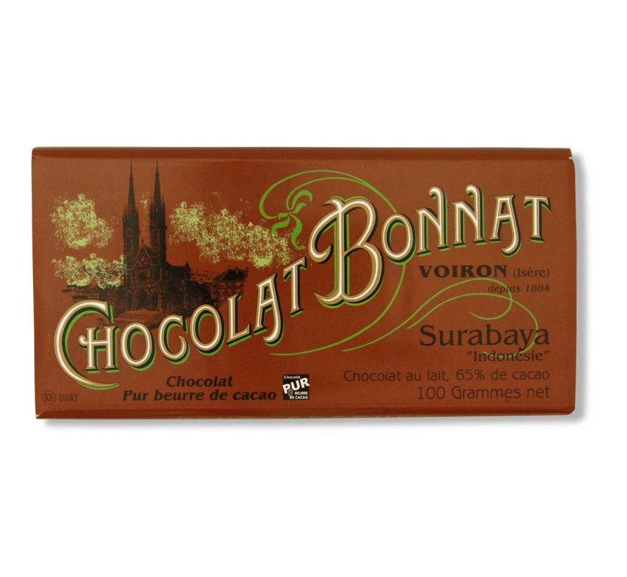 Milchschokolade 65% Surabaya Chocolat au Lait