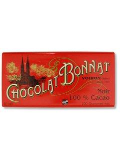 Bonnat Dunkle Schokolade 100% Cacao