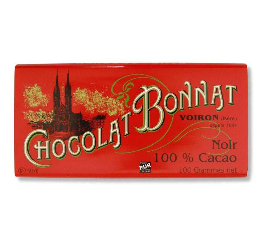 Dunkle Schokolade 100% Cacao