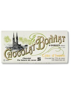 Bonnat Dunkle Schokolade 75% Cote d'Ivoire
