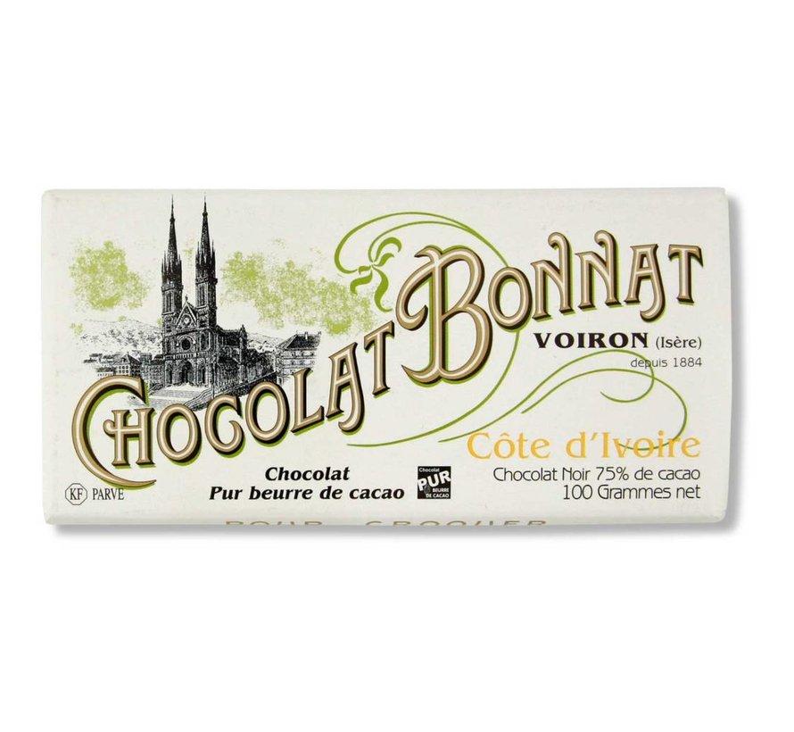 Dunkle Schokolade 75% Cote d'Ivoire