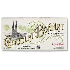 Bonnat Dunkle Schokolade 75% Ceylan