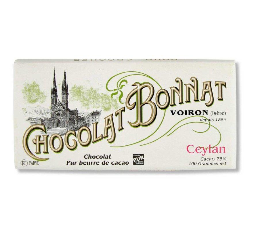 Dunkle Schokolade 75% Ceylan