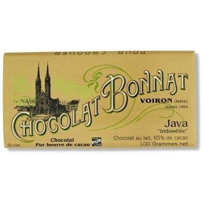 Bonnat Milchschokolade 65% Java Chocolat au Lait