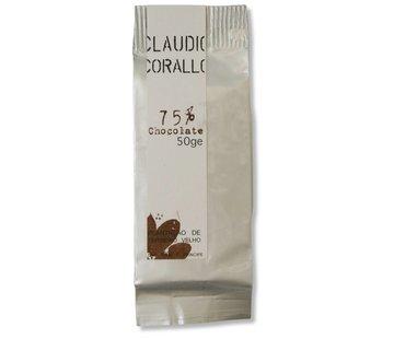 Claudio Corallo Dunkle Schokolade 75% Sao Tomé