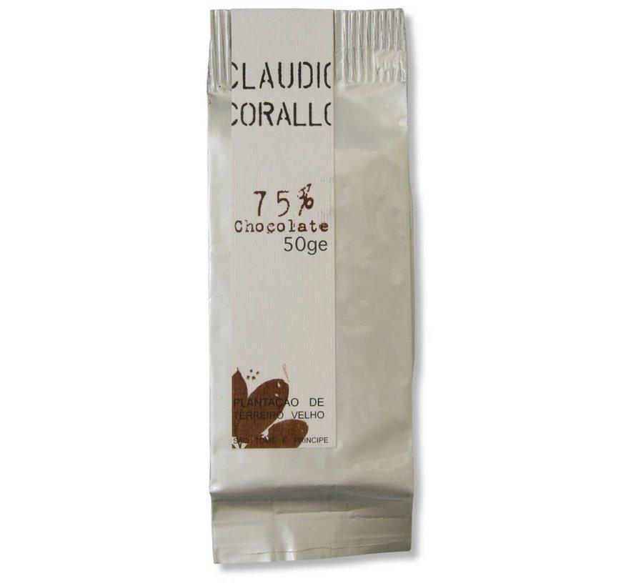 Dunkle Schokolade 75% Sao Tomé