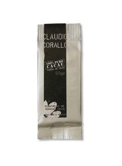 Claudio Corallo Dunkle Schokolade 100% puro Cacao