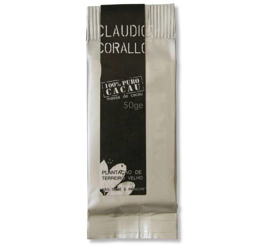 Dunkle Schokolade 100% puro Cacao