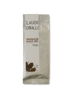 Claudio Corallo Dunkle Schokolade Chocolate 80% sablé