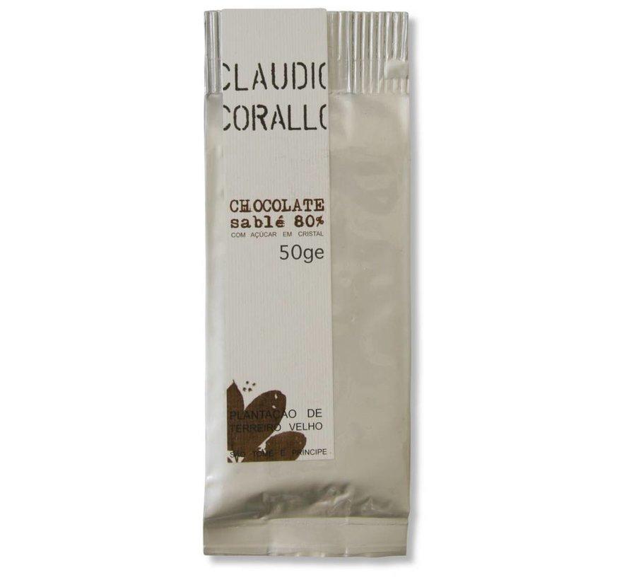Dunkle Schokolade Chocolate 80% sablé