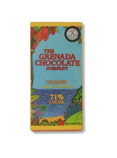 Grenada Chocolate Company Dunkle Bio-Schokolade 71%
