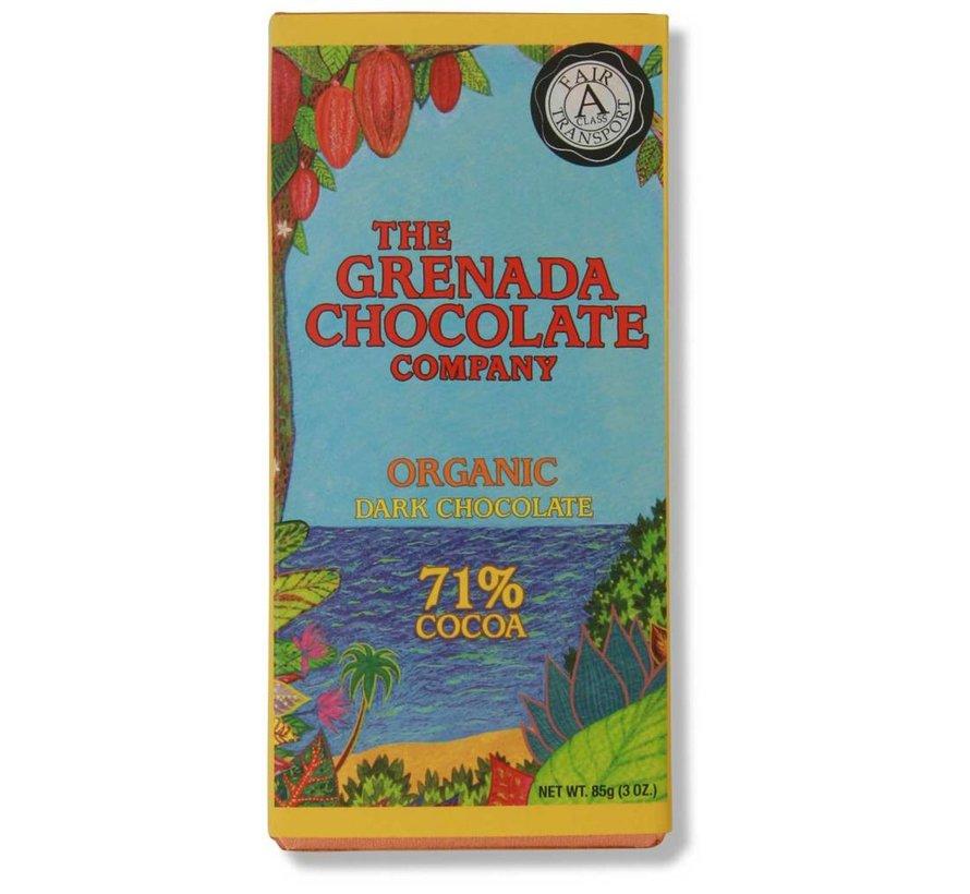 Dunkle Bio-Schokolade 71%
