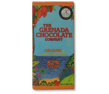 Grenada Chocolate Company Dunkle Bio-Schokolade 82%