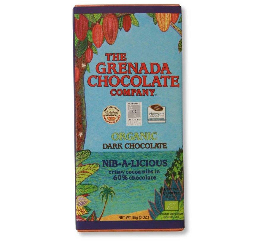 Dunkle Bio-Schokolade 60% - Nib-a-Licious