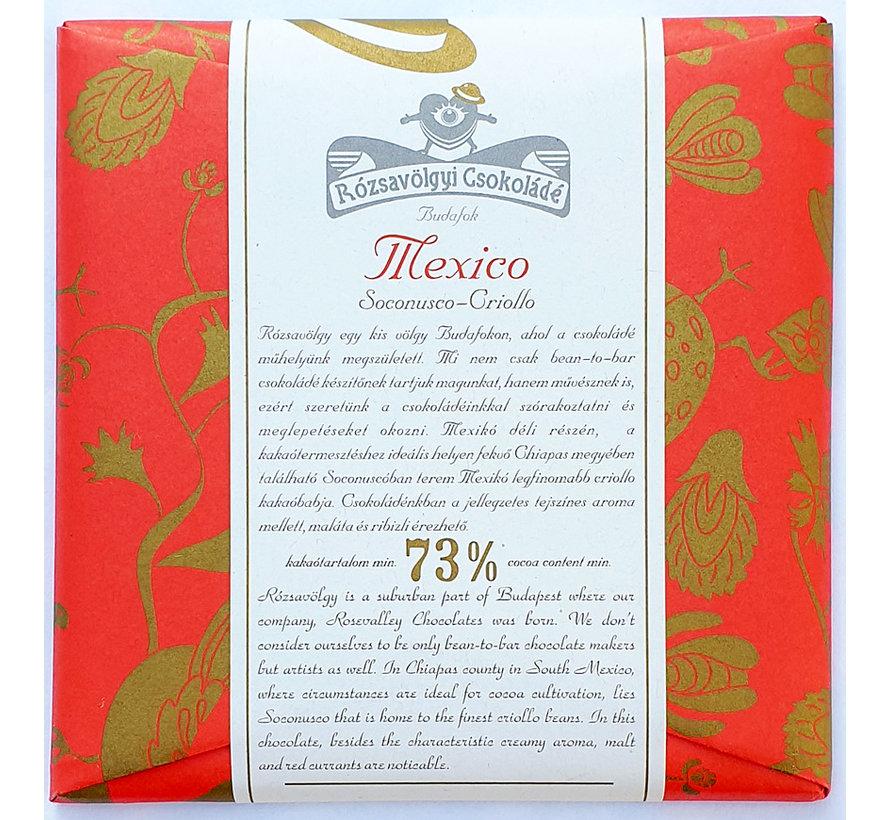 Dunkle Schokolade 73% Mexico Soconusco-Criollo