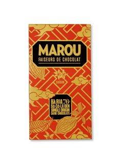 Marou Dunkle Schokolade  Ba Ria 76%