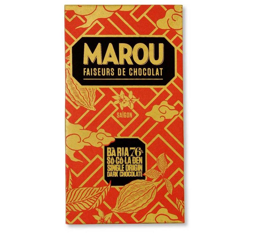 Dunkle Schokolade  Ba Ria 76%