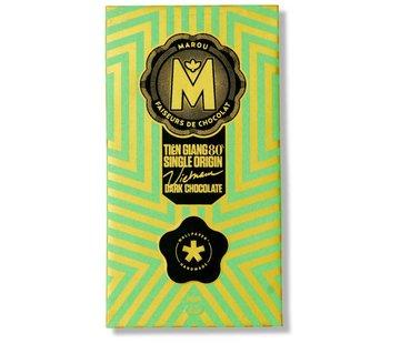 Marou Dunkle Schokolade 80% Tien Giang