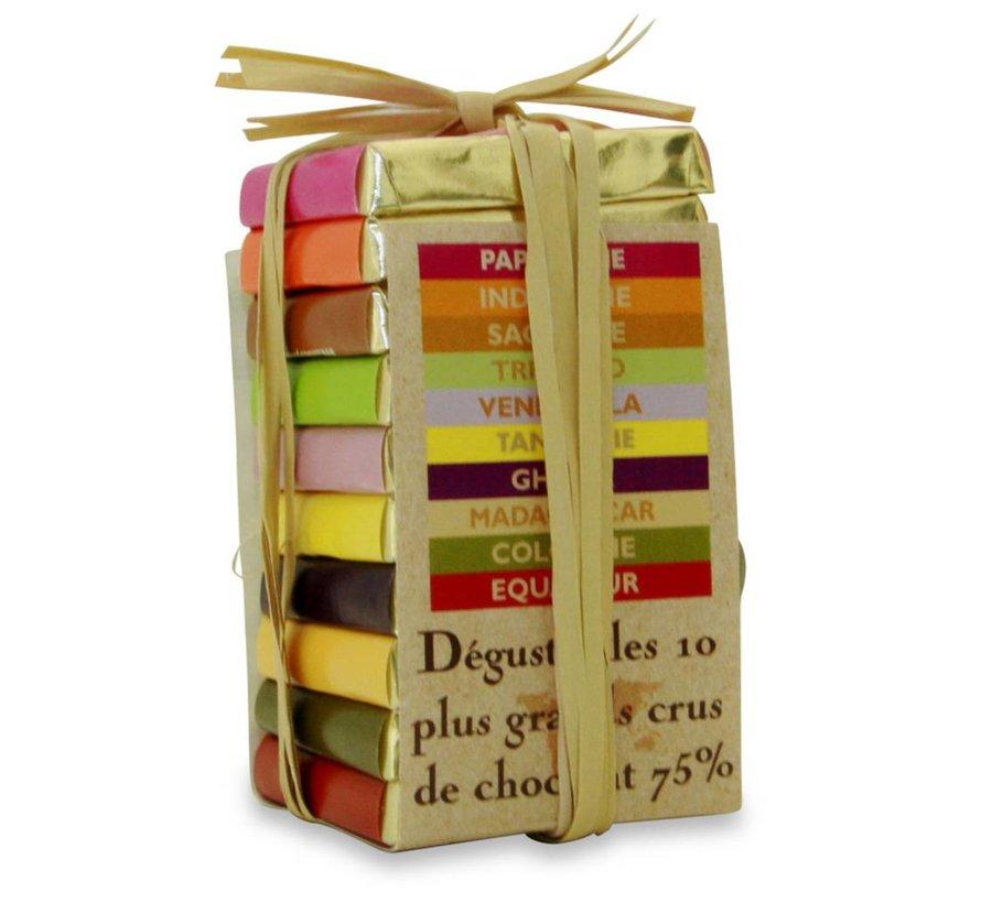 Dunkle Schokolade 75% Pyramide des Tropiques Mini