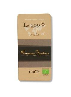 Pralus Dunkle Bio-Schokolade Le 100% Cacao