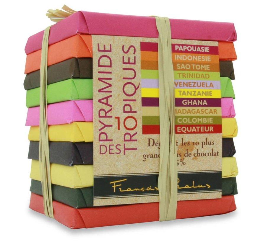 Dunkle Schokolade 75% Pyramide des Tropiques