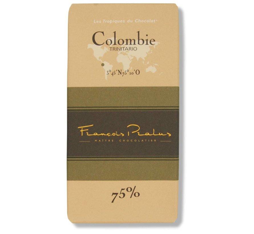 Dunkle Schokolade 75% Colombie