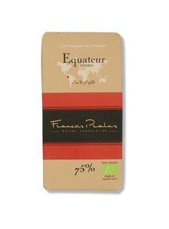 Pralus Dunkle Bio-Schokolade 75% Equateur